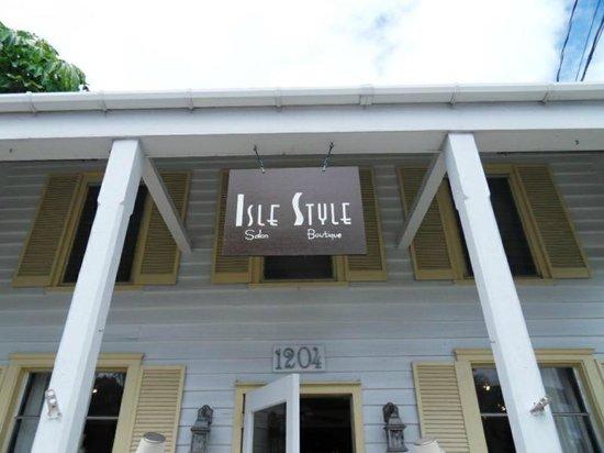 Isle Style Salon, Spa & Boutique: Location
