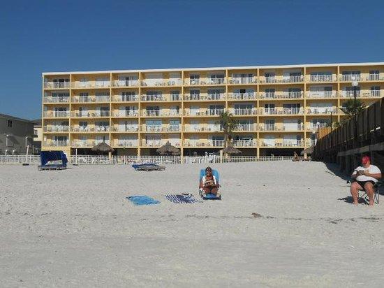 Sand Dollar Condominiums : View from the beach