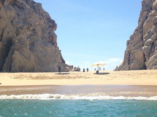 Hotel Riu Palace Cabo San Lucas : Lovers Beach