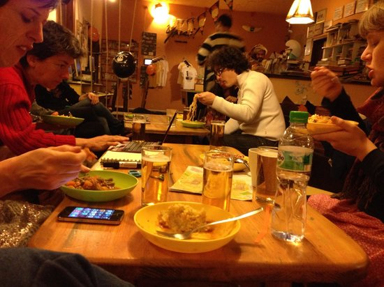 Hostel Mostel : Sala comune