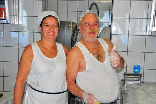 La Tagliata: Momma and Pappa