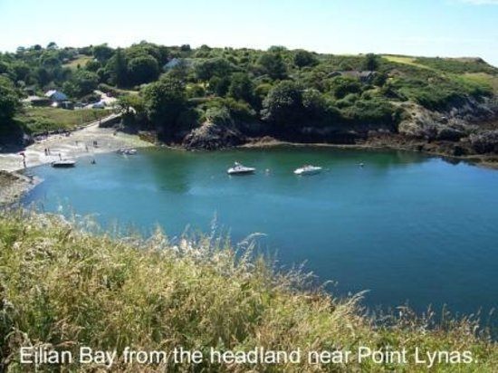 The tranquil Eilian Bay on the beautiful north coast of Anglesey