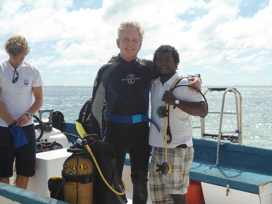 """DiveSail Diving Pty Ltd: Retour de plongée dans """"la passe de Belle Mare"""""""