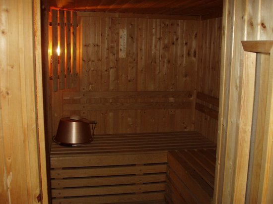 Hotel Goldried: Private sauna