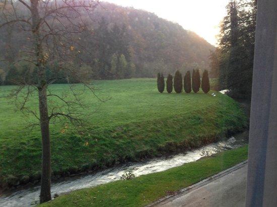 Les Jardins De La Molignee: Der Blick aus dem Zimmer