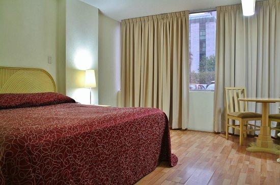 Hotel Del Angel : Habitación estándar cama king size