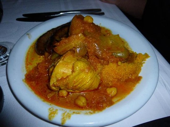 Zephir Hotel & Spa : couscous poulet mergez