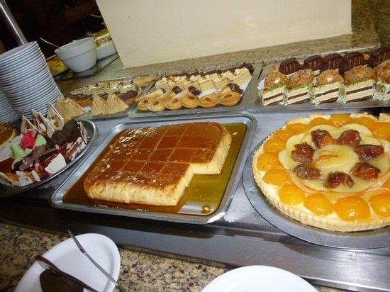 Zephir Hotel & Spa : buffet dessert