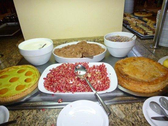 Zephir Hotel & Spa: buffet desserts