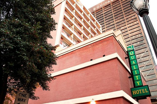 front of the hotel picture of barclay hotel atlanta downtown rh tripadvisor co uk