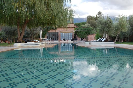 Domaine Malika: pool