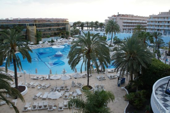 Mediterranean Palace Hotel: Вид с Балкона