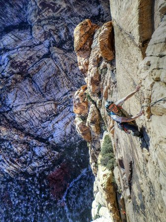 Mountain Skills Rock Guides, LLC : Climbing in Red Rocks with Mountain Skills / Massey Teel