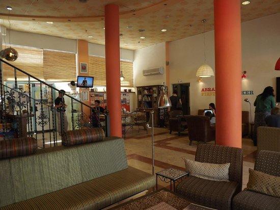 Abraham Hostel Jerusalem : Lobby