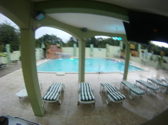 Midas Belize : view from the bar