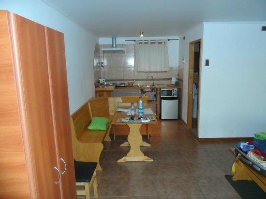 Hareswiss: apartamento e cozinha