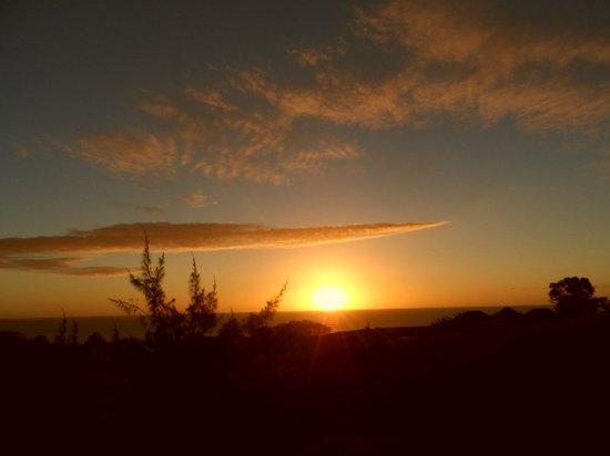 Hareswiss: Por do sol visto da varanda