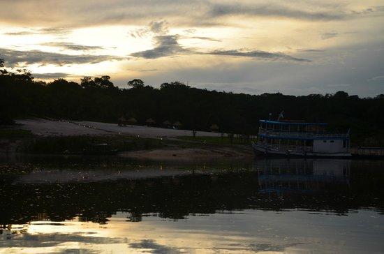 Amazon Ecopark Jungle Lodge: Pôr do Sol
