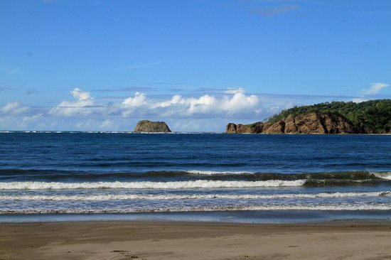 Hotel Leyenda: Playa Carrillo Beach is 2km long, quiet, great waves for surfing