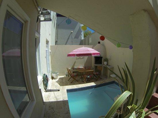 Villa Cape Adventures: Splash pool area