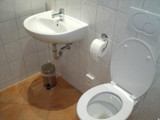 Excelsior Hotel Luebeck: Kraakheldere badkamer
