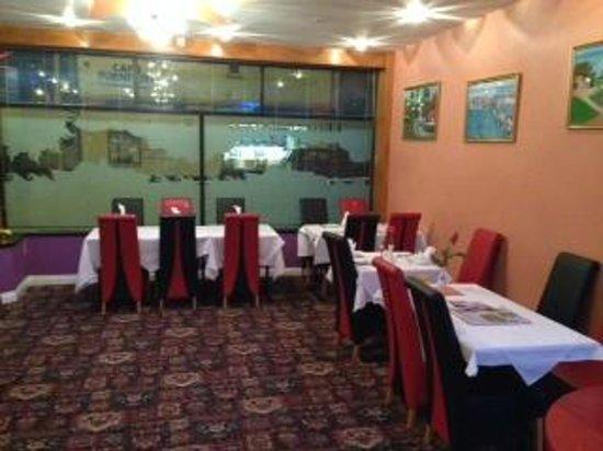 Britannia Spice: Main dining area