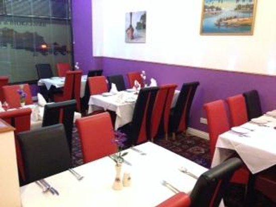 Britannia Spice: Dining Area