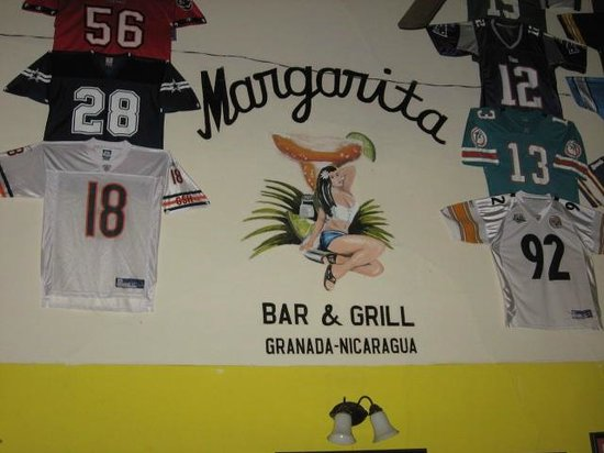 Margarita Bar & Grill : Inside the bar