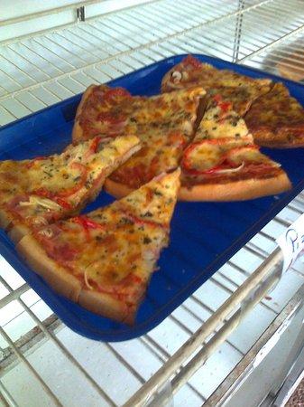 Restaurante Delicias Bahia Drake : Pizza