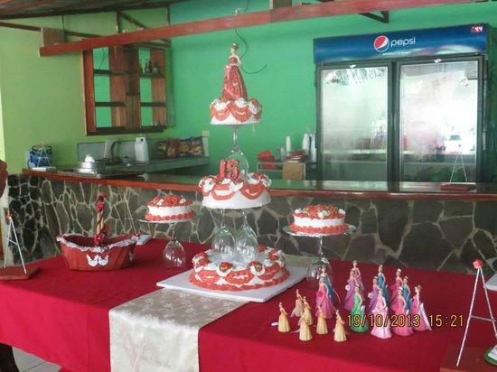Restaurante Delicias Bahia Drake : Queques