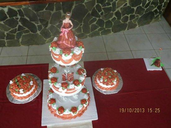 Restaurante Delicias Bahia Drake : Queques especiales