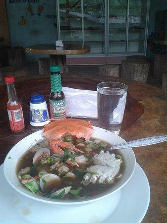 Restaurante Delicias Bahia Drake : Sopa de Marisco