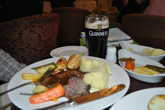 Faithlegg House Hotel & Golf Resort: Bar roast beef special