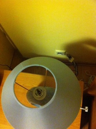 Best Western Hotel Poleczki: lamp without bulb