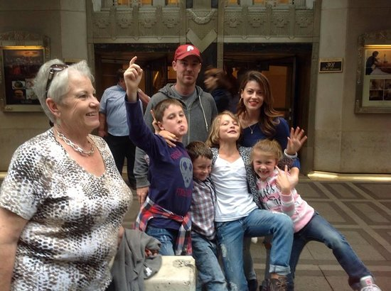 Waldorf Astoria New York: waiting for the limo with the family.