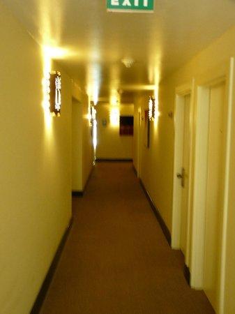 Belmond Sanctuary Lodge : couloir hôtel