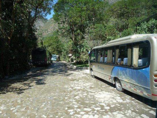 Belmond Sanctuary Lodge : bus pour la montée