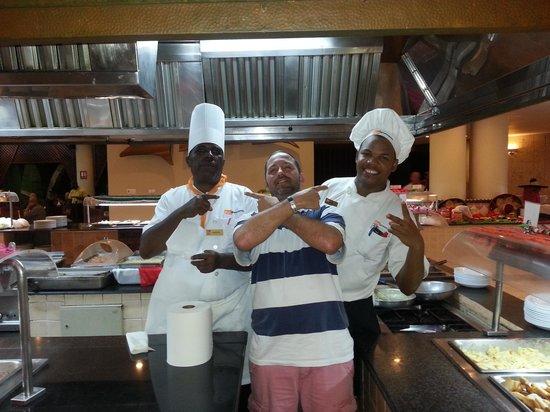 Viva Wyndham Dominicus Palace: les cuistos du yuca