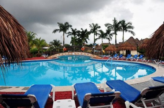 Allegro Cozumel: pool was picturesque