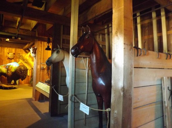 Pony Express Museum: the stables