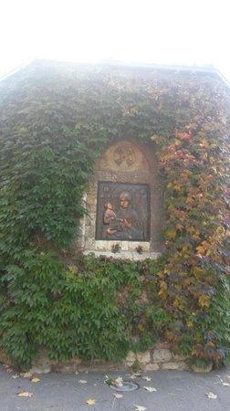 Saint Petka's Chapel : Фреска снаружи