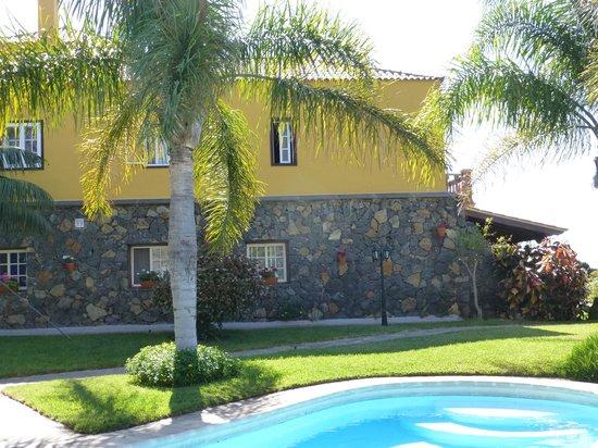 Finca El Moral: Deel van het zwembad