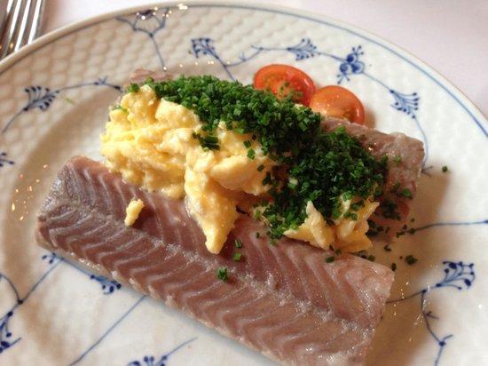 Restaurant Schoennemann: ål og røræg
