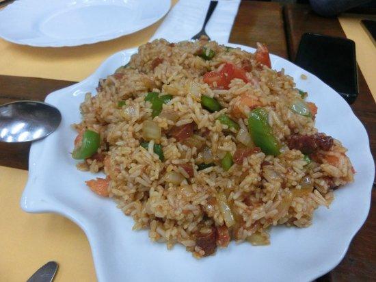 Amagao: 葡式炒飯