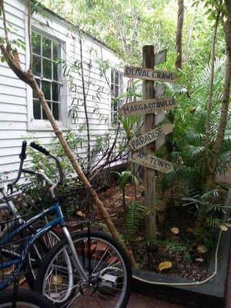 Garden House: Bike rentals