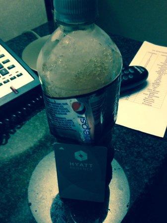 Hyatt Regency New Brunswick: Frozen Pepsi from 3rd floor machine