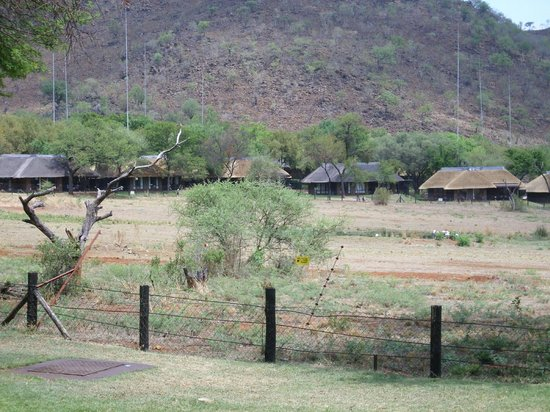 Bakubung Bush Lodge : View from dinning room