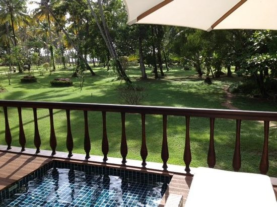 Carnoustie Ayurveda & Wellness Resort: Balcony