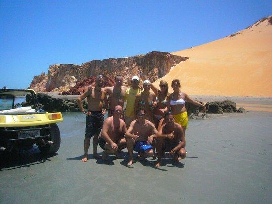 Pousada La Goduria: tour in buggy e jangada(barca dei pescatori) a Ponta Grossa(circa 35 km via mare)
