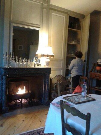 La Trimardière : Salon Petit déjeuner